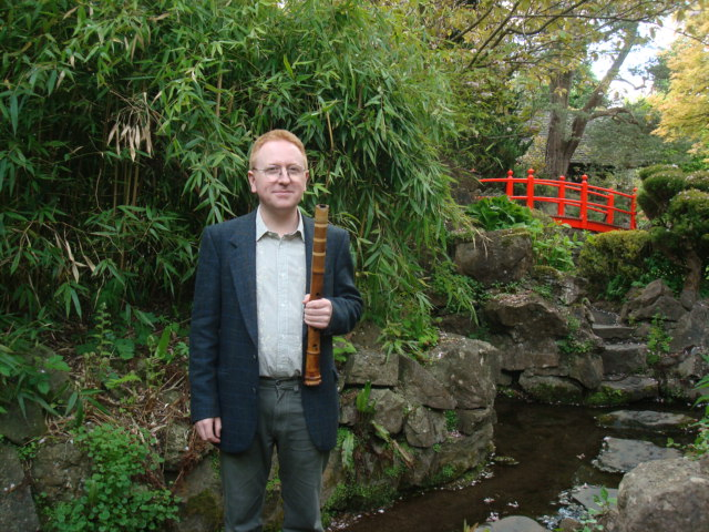 Philip Horan at Japanese Gardens in County Kildare.